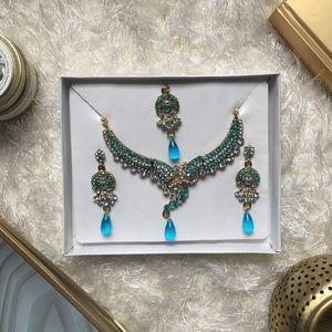 3 Piece Indian/Pakistani/Desi Necklace Set